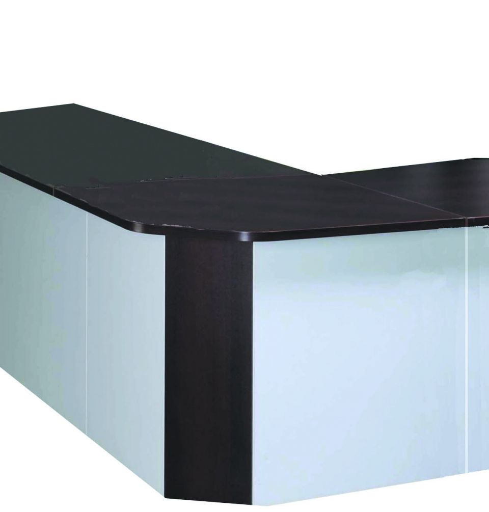 Angle 90 banque d 39 accueil lum a achat mobilier accueil for Achat mobilier