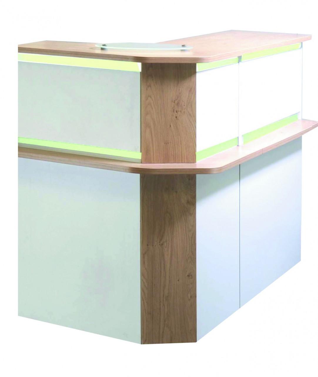 angle 90 banque d 39 accueil lum a achat mobilier accueil entreprise 180 00. Black Bedroom Furniture Sets. Home Design Ideas