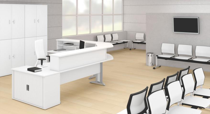 banque d 39 accueil atlas achat mobilier accueil entreprise 273 00. Black Bedroom Furniture Sets. Home Design Ideas