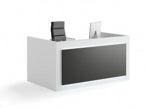 Mobilier Accueil entreprise - Banque d'accueil CONTACT BASSE