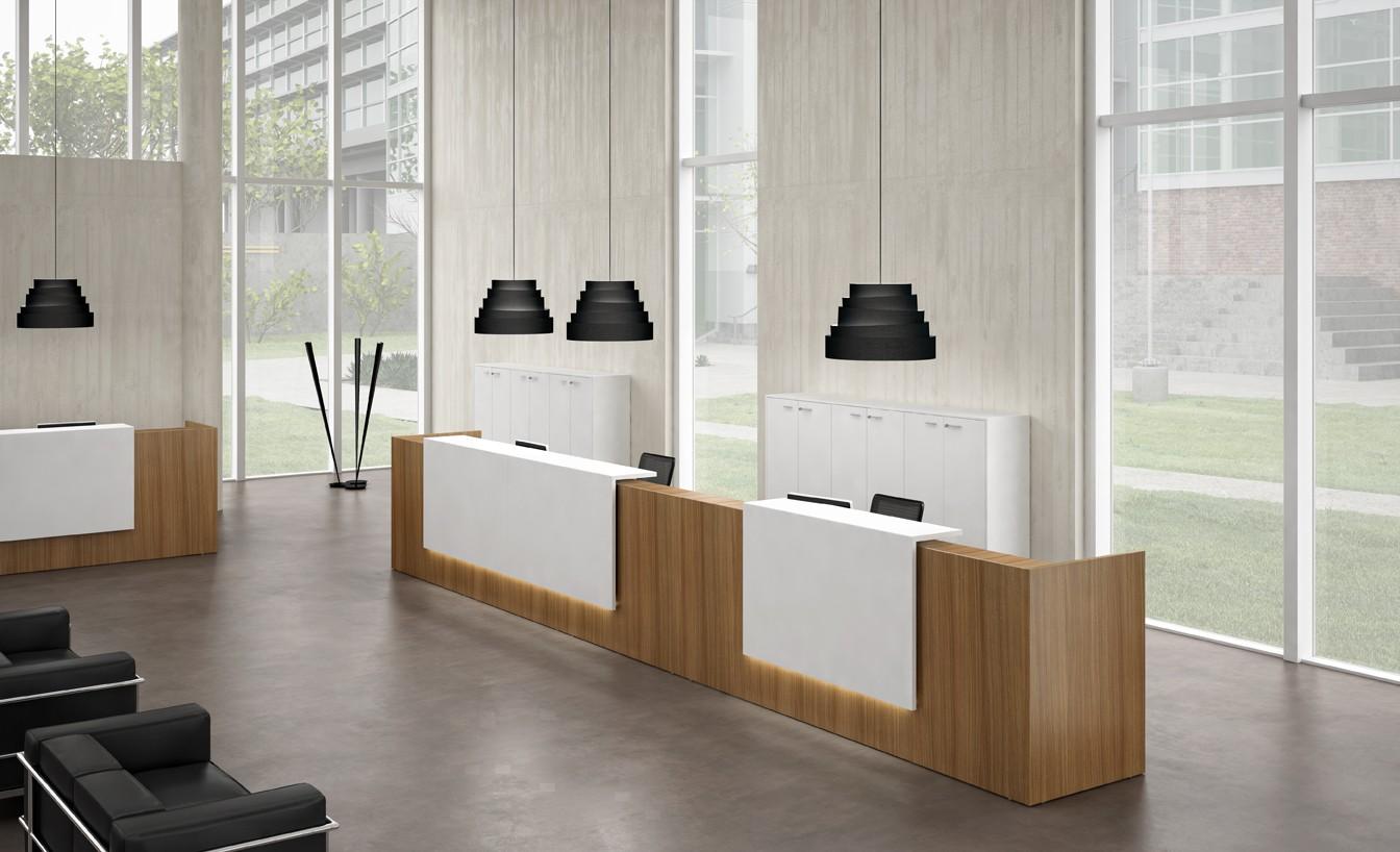 banque d 39 accueil droite zeta achat mobilier accueil entreprise 1 828 00. Black Bedroom Furniture Sets. Home Design Ideas