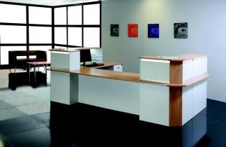 Mobilier Accueil entreprise - Banque d'accueil Luméa