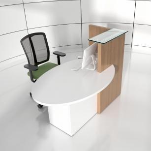 Mobilier Accueil entreprise - Banque d'accueil OGIVA