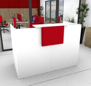Mobilier Accueil entreprise - Banque d'accueil Sélect