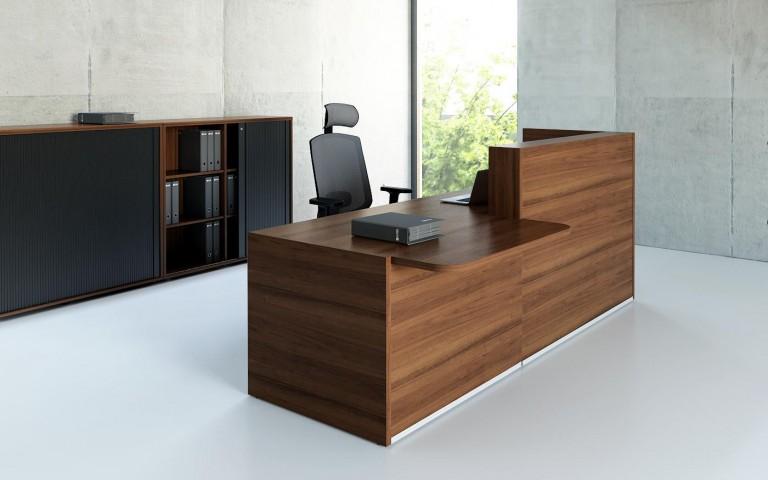 banque d 39 accueil tera avec pmr. Black Bedroom Furniture Sets. Home Design Ideas