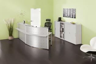 Mobilier Accueil entreprise - Banque Teka
