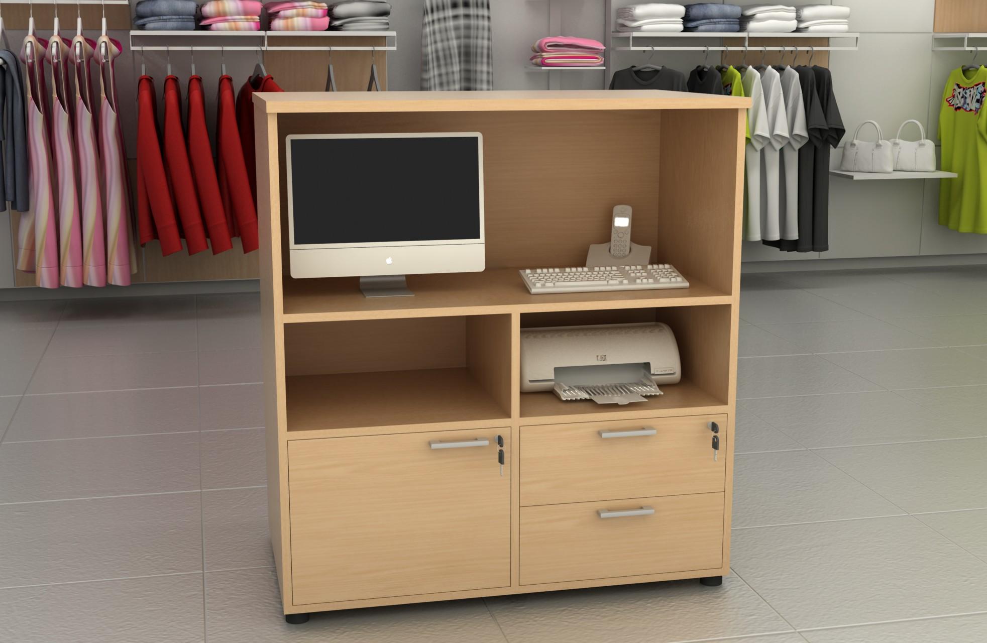 Comptoir magasin achat mobilier accueil entreprise 315 00 for Achat mobilier