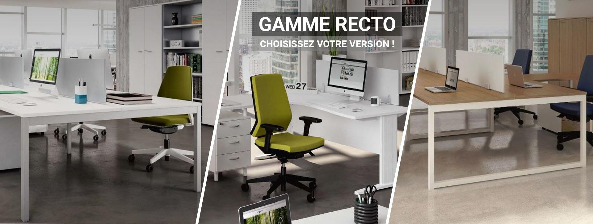 Gamme Recto, choisissez votre version !