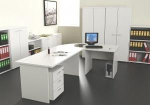 Bureau professionnel - Bureau angle