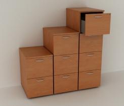 Rangements pour bureaux - Meubles à tiroirs