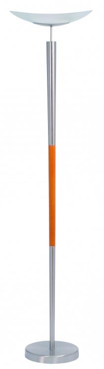 Lampe - Halogène métal et bois Elia
