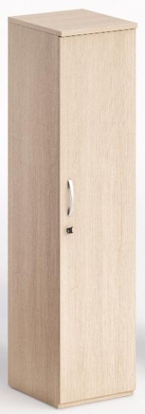 Armoire bois - Armoire haute 1 porte battante CURVY/EXPRESS PLUS