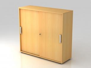 Armoire bois - Armoires à portes coulissantes H110 cm