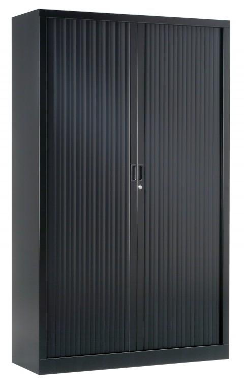 Armoire à rideaux unie H198 cm