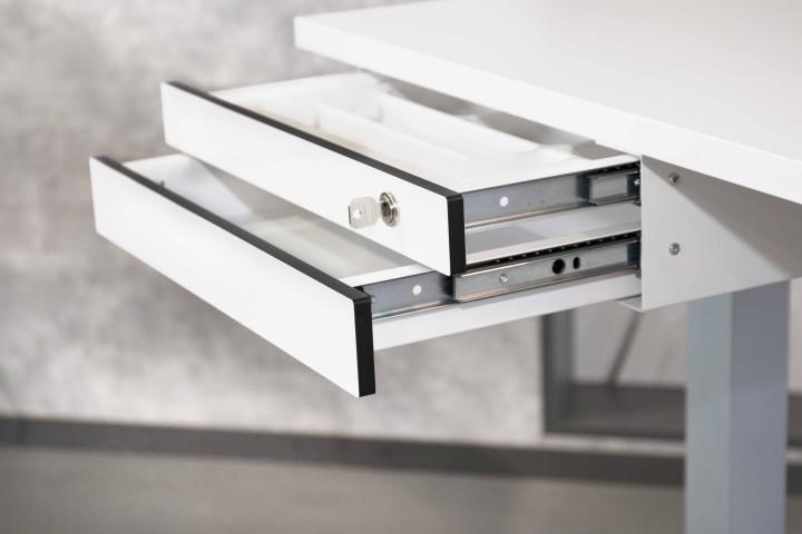 2 tiroirs sous bureau