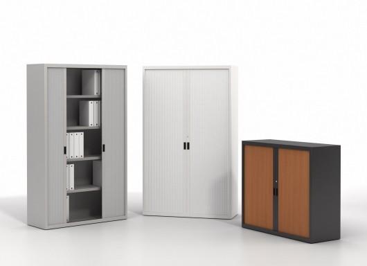 armoire rideaux monobloc achat armoire bureau. Black Bedroom Furniture Sets. Home Design Ideas