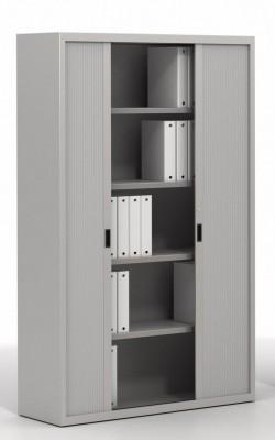 Armoire à rideaux monobloc - Achat armoire bureau métallique - 249,00€