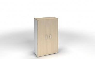 armoire 159 x 80 cm bicolore achat armoires bois 251 00. Black Bedroom Furniture Sets. Home Design Ideas