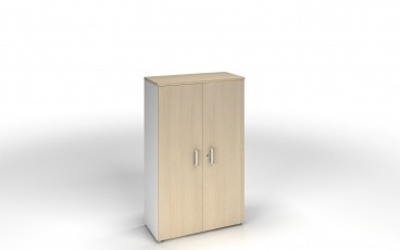 armoire 159 x 80 cm bicolore achat armoires bois 259 00. Black Bedroom Furniture Sets. Home Design Ideas
