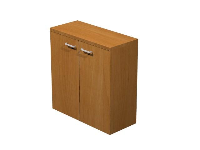 Armoire budget basse achat armoires bois 169 00 - Armoire bureau bois ...