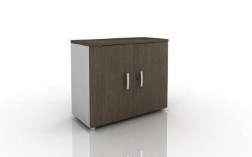 armoire hauteur bureau bicolore achat armoires bois. Black Bedroom Furniture Sets. Home Design Ideas