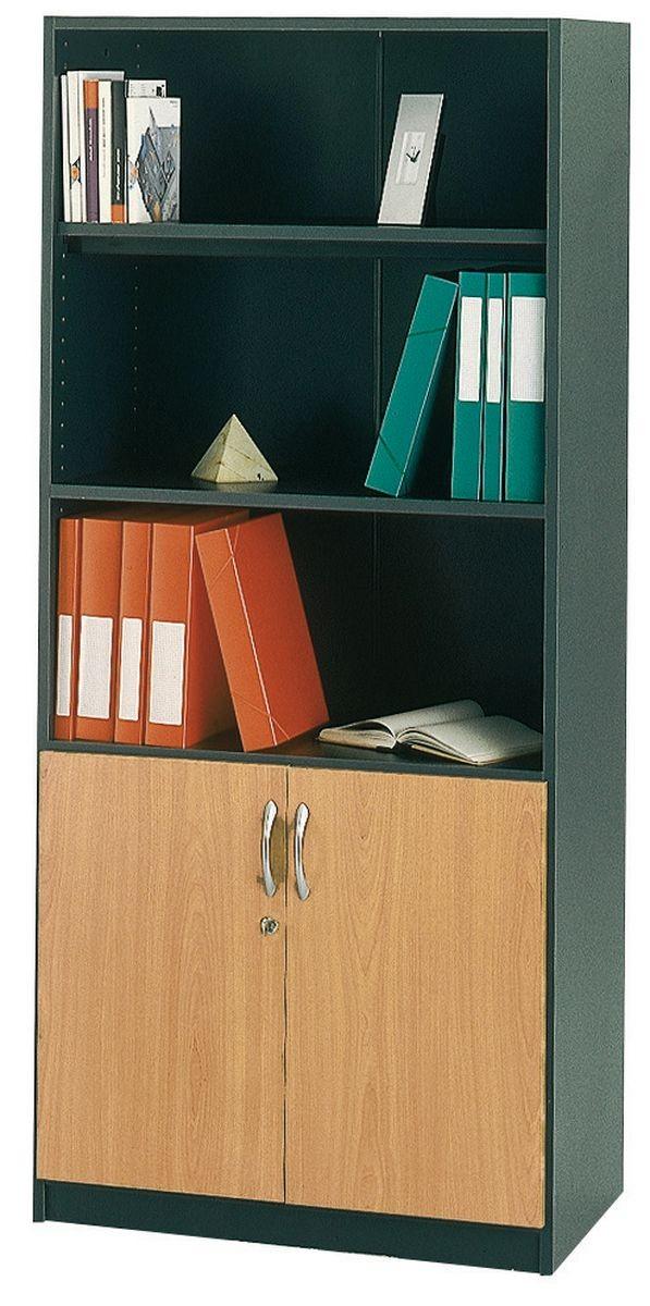 Biblioth que achat armoires bois 308 00 - Bibliotheque pour bureau ...