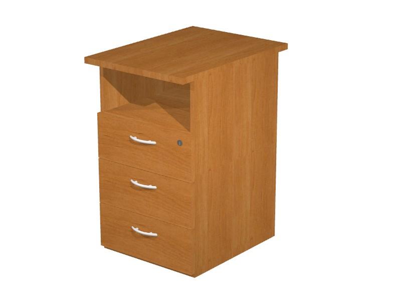 caisson hauteur bureau budget prof 60 cm achat caisson hauteur bureau 227 00. Black Bedroom Furniture Sets. Home Design Ideas
