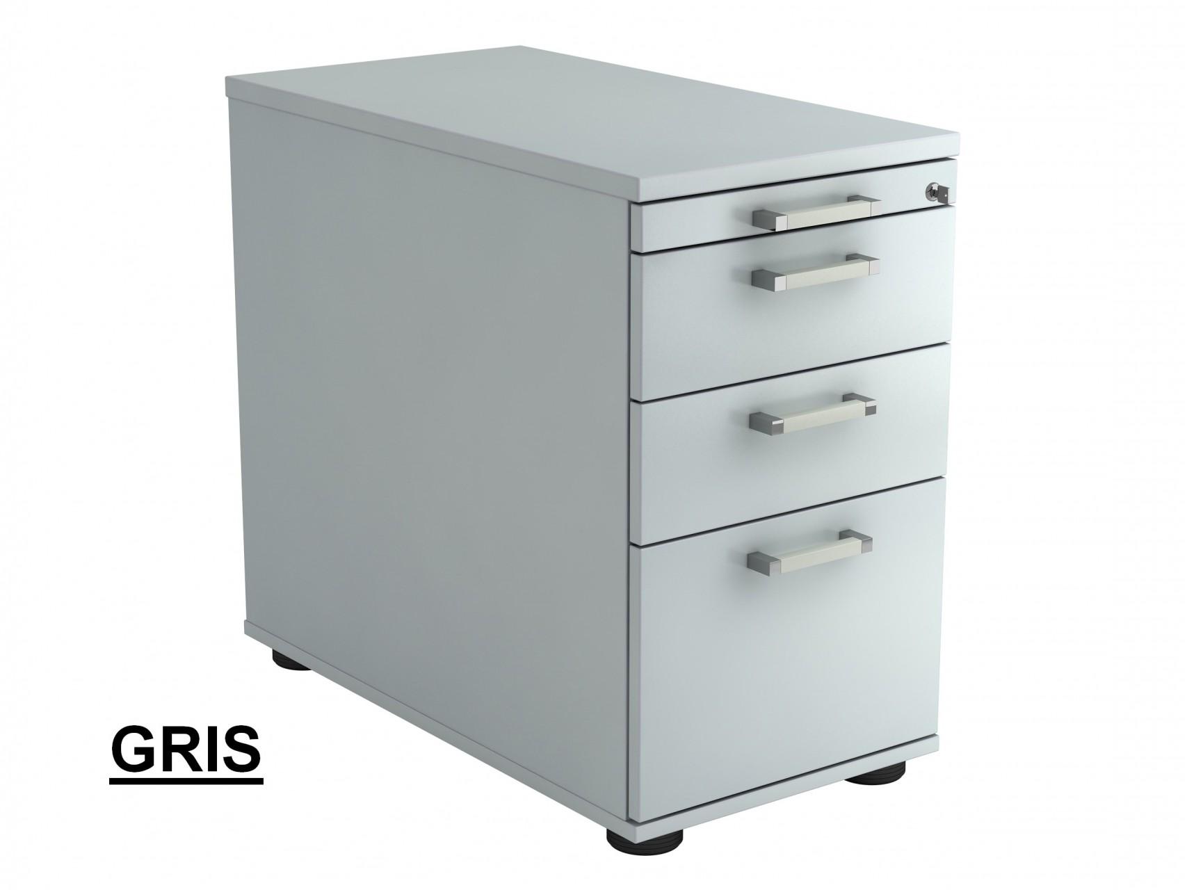 caisson hauteur bureau profondeur 80 cm. Black Bedroom Furniture Sets. Home Design Ideas
