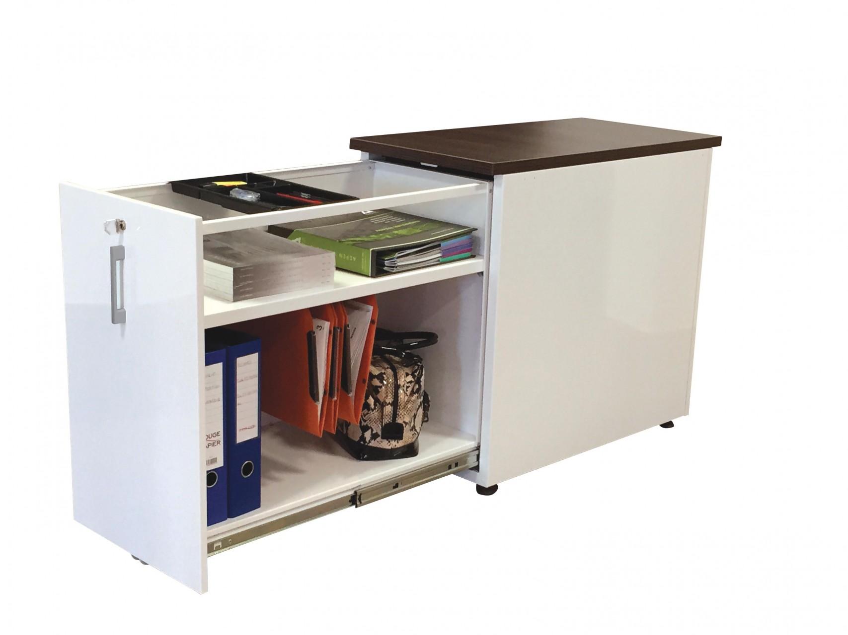 Caisson tiroir unique achat caisson hauteur bureau 599 00 for Caisson pour cuisine amenagee