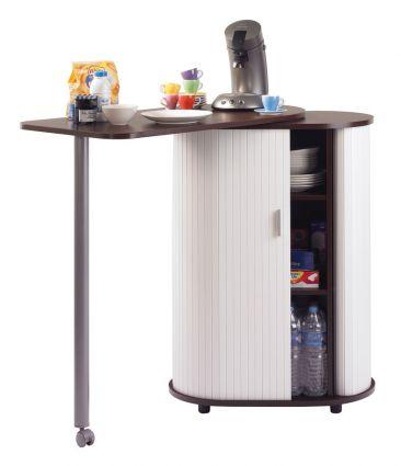Meuble self achat rangements pause caf 246 00 - Console pour cuisine ...