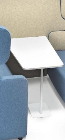 Cellule acoustique 2 personnes Meeting - Kit table pour cellule acoustique 2 personnes Meeting