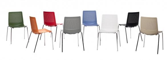 Chaise pour collectivite - Votre mobilier collectivite - Chaise de collectivité PERFECTO