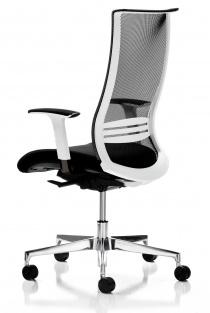 Siège de bureau - Fauteuil  bureau ergonomique Wave Blanc