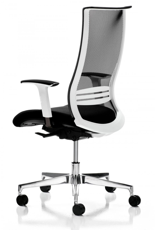 Fauteuil bureau ergonomique Wave Blanc