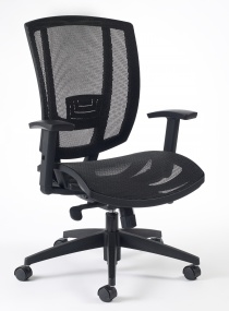 ACCOUDOIRS REGLABLES EN HAUTE - Fauteuil de bureau ergonomique Air Top