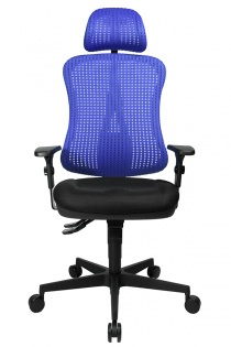 Siège ergonomique - Fauteuil de bureau ergonomique Ergo Color Plus