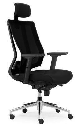 Fauteuil de bureau ergonomique ERGOFLEX imitation cuir