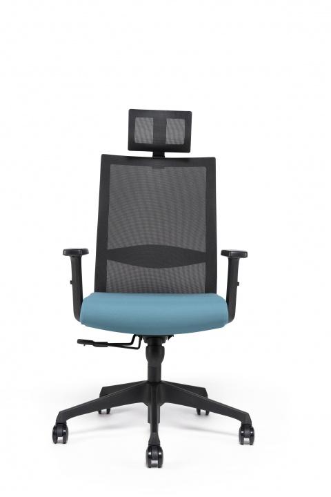Fauteuil de bureau ergonomique Kastel avec têtière