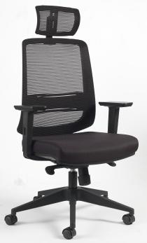 ACCOUDOIRS REGLABLES EN HAUTE - Siège de bureau ergonomique EVIDENCE
