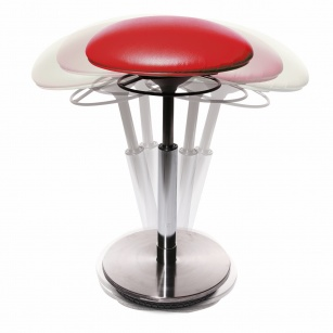 Bureau Home office - Tabouret dynamique Plump