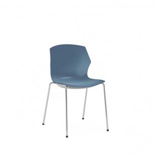 Siège visiteur et réunion - Chaise de réunion FRIZZ 4 pieds