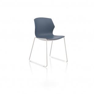 Siège visiteur et réunion - Chaise de réunion FRIZZ pieds luge
