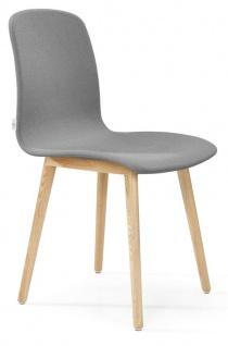 Siège visiteur et réunion - Chaise pieds bois MITO