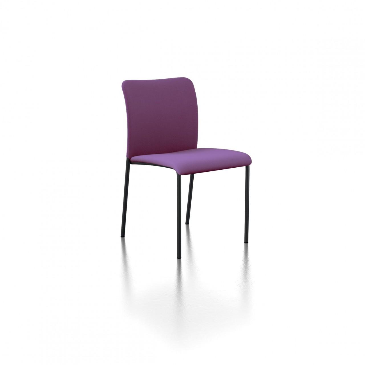 Tissu De La Reunion chaise visiteur stay dossier tissu