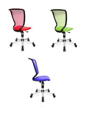 Chaise de bureau titan junior achat chaise de bureau for Chaises de bureau enfant