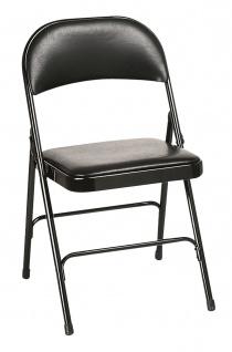 Chaise pliante - Votre mobilier collectivite - Chaise pliante Plius Vinyl