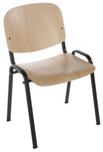 Chaise pour collectivite - Votre mobilier collectivite - Siège visiteur INO Bois