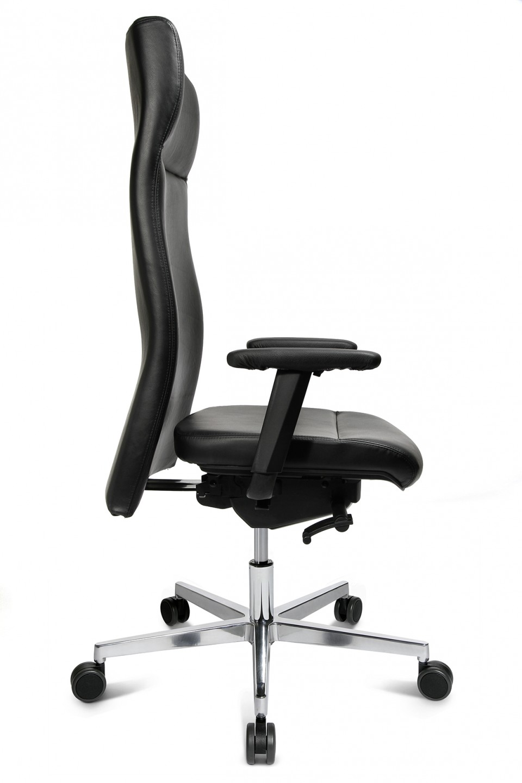 fauteuil de bureau cuir quadro achat fauteuils de direction 695 00. Black Bedroom Furniture Sets. Home Design Ideas