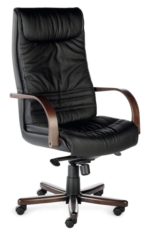 fauteuil de bureau cuir robin achat fauteuils de direction 599 00. Black Bedroom Furniture Sets. Home Design Ideas