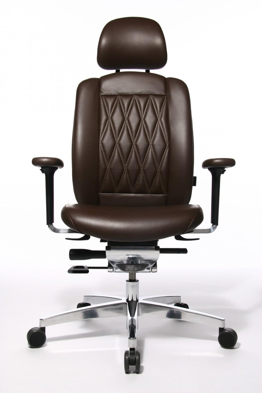 fauteuil de direction cuir haut de gamme alumedic ltd s achat fauteuils de direction 1 339 00. Black Bedroom Furniture Sets. Home Design Ideas